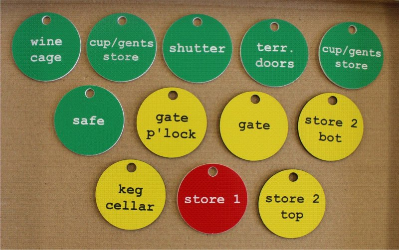 Engraved Tags Tokens And Discs